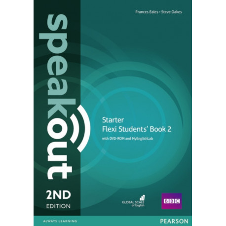 Speakout Starter 2nd Edition Flexi Students' Book 2 with MyEnglishLab Pack