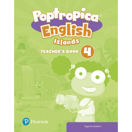 Poptropica English Islands Level 4 Teacher's Book with Online World Access Code + Test Book pack