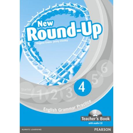 Round Up Level 4 Teacher's Book/Audio CD Pack