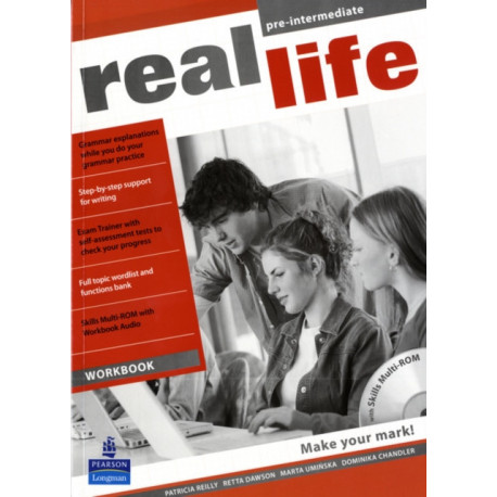Real Life Global Pre-Intermediate Workbook & Multi-ROM Pack