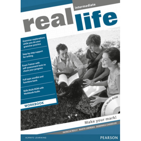 Real Life Global Intermediate Workbook & Multi-ROM Pack