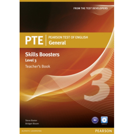 Pearson Test of English General Skills Booster 3 Teacher's Book and CD Pack