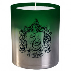 Harry Potter: Slytherin Large Glass Candle