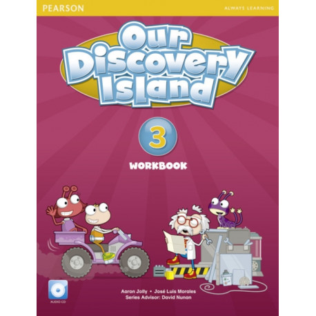 Our Discovery Island American Edition Workbook with Audio CD 3 Pack