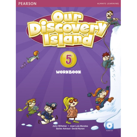 Our Discovery Island American Edition Workbook with Audio CD 5 Pack