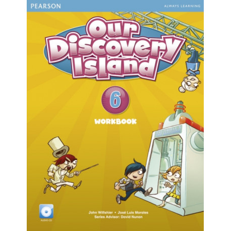 Our Discovery Island American Edition Workbook with Audio CD 6 Pack