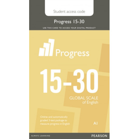 Progress 15-30 Student Access Card: Industrial Ecology