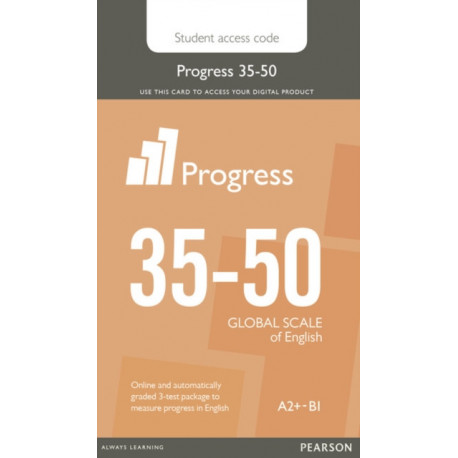 Progress 35-50 Student Access Card: Industrial Ecology