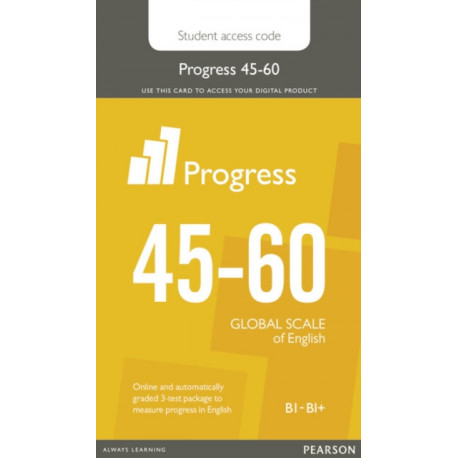 Progress 45-60 Student Access Card: Industrial Ecology