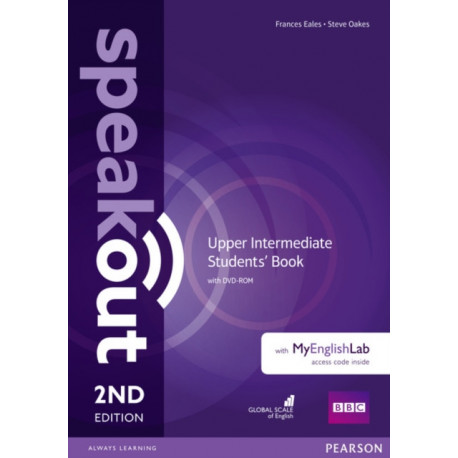 Speakout Upper Intermediate 2nd Edition Students' Book with DVD-ROM and MyEnglishLab Access Code Pack