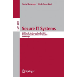 Secure IT Systems: 20th Nordic Conference, NordSec 2015, Stockholm, Sweden, October 19-21, 2015, Proceedings