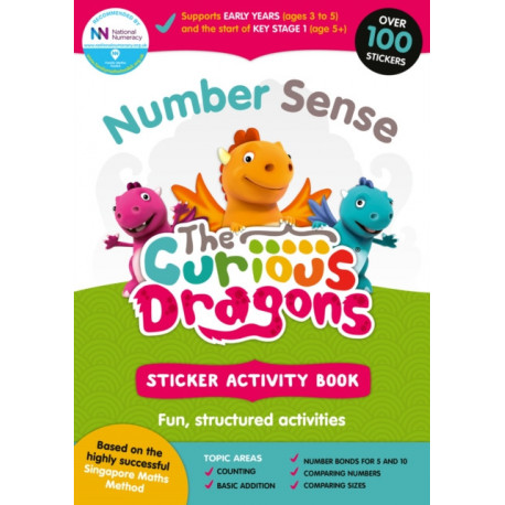 Number Sense: Sticker Book