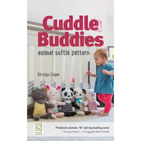"""Cuddle Buddies: Animal Softie Pattern - Finished Animals: 18"""" Tall"""