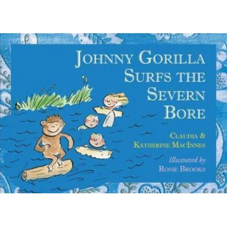 John D Gorilla Surfs the Severn Bore