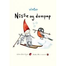 Nisse og dompap. Vinter