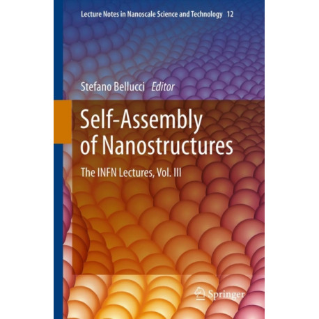 Self-Assembly of Nanostructures: The INFN Lectures, Vol. III