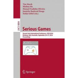 Serious Games: Second Joint International Conference, JCSG 2016, Brisbane, QLD, Australia, September 26-27, 2016, Proceedings