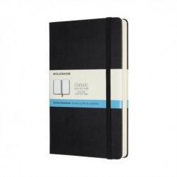 Moleskine Expanded Large Dotted Hardcover Notebook: Black