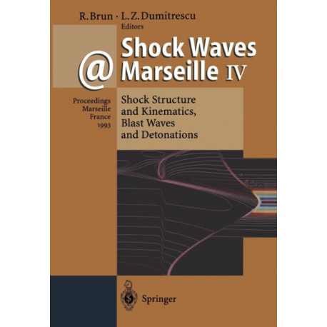 Shock Waves @ Marseille IV: Shock Structure and Kinematics, Blast Waves and Detonations