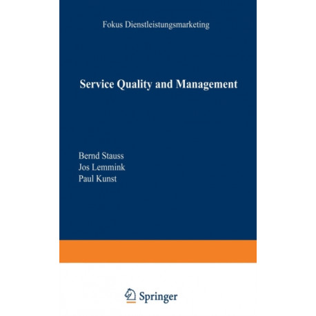 Service Quality and Management