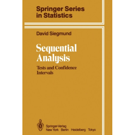 Sequential Analysis: Tests and Confidence Intervals