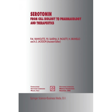 Serotonin: From Cell Biology to Pharmacology and Therapeutics