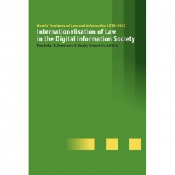 Internationalisation of Law in the Digital Information Society