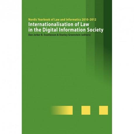 Internationalisation of Law in the Digital Information Society