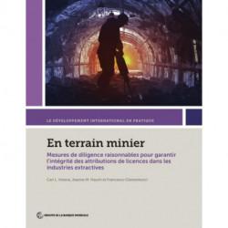 En terrain minier: Mesures de diligence raisonnables pour garantir l?integrite des attributions de licences dans les industries extractives
