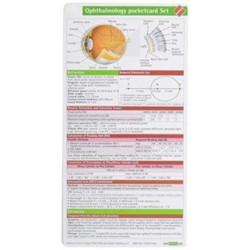 Ophthalmology Pocketcard Set