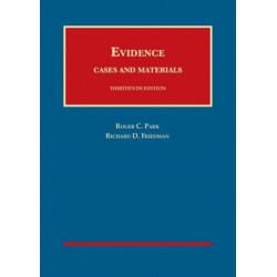 Evidence, Cases and Materials