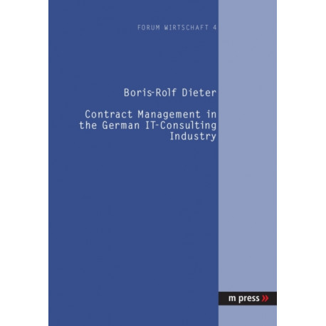 Contract Management in the German IT-consulting Industry