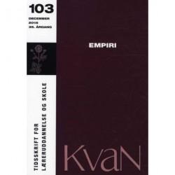 KvaN 103 - Empiri