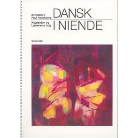 Dansk i niende: grundbog, Kopisider og Lærerens bog