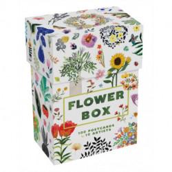 Flower Box Postcards: 100 Postcards by 10 artists