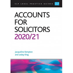 Accounts for Solicitors 2020/2021