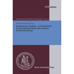 Europaisches Vergabe- und Kartellrecht als Herausforderung fur die deutsche Sozialversicherung