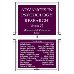 Advances in Psychology Research: Volume 55
