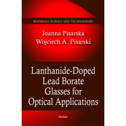 Lanthanide-Doped Lead Borate Glasses for Optical Applications