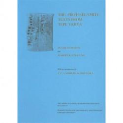 Excavations at Tepe Yahya, Iran, 1967-1975, Volume II: The Proto-Elamite Texts from Tepe Yahya