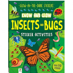 Know and Glow: Insects and Bugs Sticker Activities
