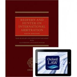 Redfern and Hunter on International Arbitration (Hardback and eBook)