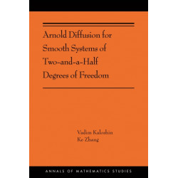 Arnold Diffusion for Smooth Systems of Two and a Half Degrees of Freedom: (AMS-208)