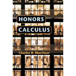 Honors Calculus