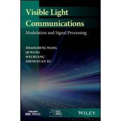 Visible Light Communications: Modulation and Signal Processing