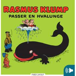 Rasmus Klump passer en hvalunge