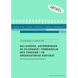 Muligheder, udfordringer og dilemmaer i forbindelse med coaching i en organisatorisk kontekst