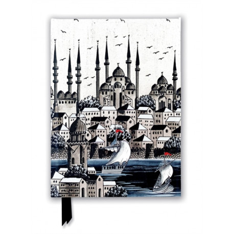 Constantinople Silver (Foiled Journal)