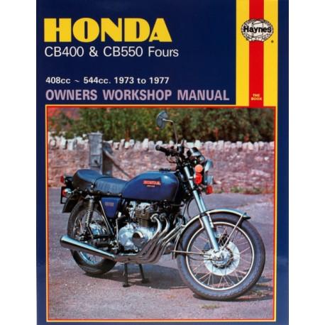 Honda CB400 & CB550 Fours (73 - 77)