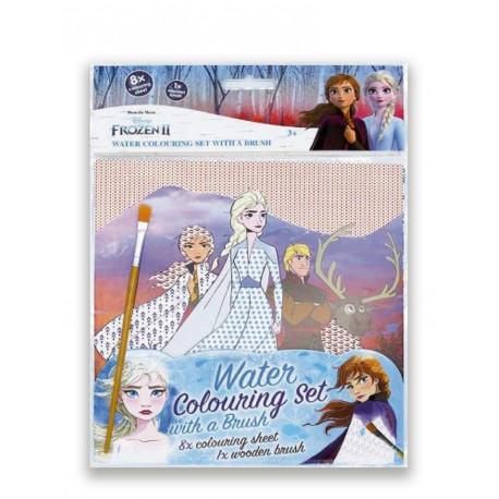 Frozen 2 – Vandmalingssæt